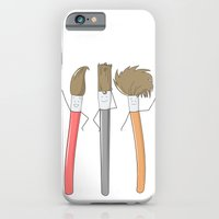 iPhone & iPod Case featuring Hairstyles by justang8
