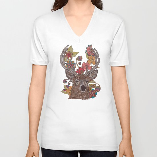 Hello my Deer V-neck T-shirt