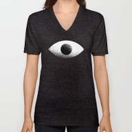 Eyeball Unisex V-Neck