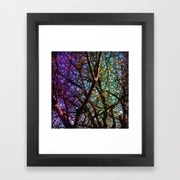 Colourful Tree Framed Art Print