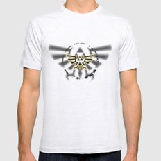 Triforce Mens Fitted Tee Ash Grey SMALL