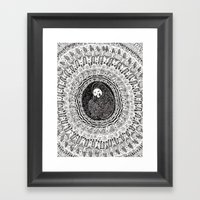 Isolation Blossom 1 Framed Art Print