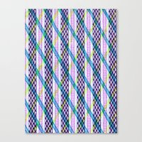 Isometric Harlequin #2 Canvas Print