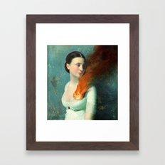 Portrait of a Heart  Framed Art Print
