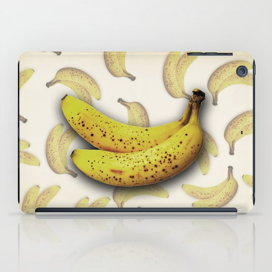 brown bananas iPad Case