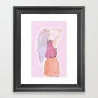 Dreamboat Annie Framed Art Print