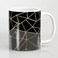 Ab Half And Half Gold Mug