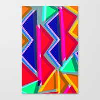Collage overlay  Canvas Print