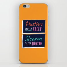 Never Sleep iPhone & iPod Skin