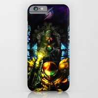 iPhone & iPod Case featuring Metroid: 25 Years by LightningArts
