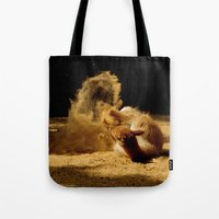 Animal sandwave Tote Bag