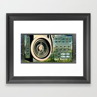BassBooster Plugin By So… Framed Art Print