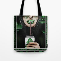 Feed Your Machine  Tote Bag