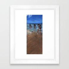 Fistral Beach Framed Art Print