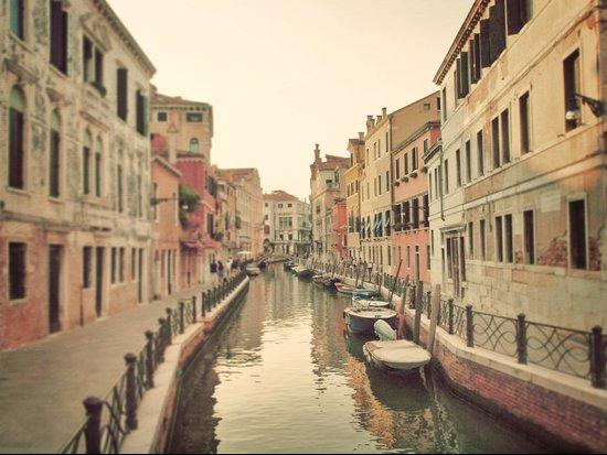 Exploring Venice  Art Print