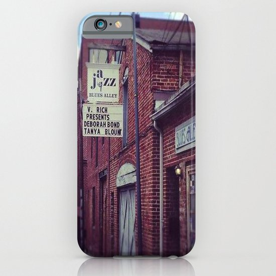 Blues Alley (Washington, DC) iPhone & iPod Case