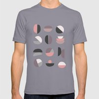 Pastel Geometry 4 Mens Fitted Tee Slate SMALL