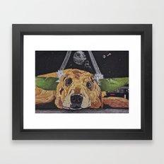 Yodog Framed Art Print