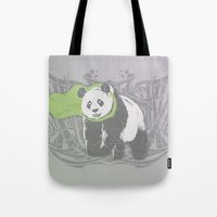 Fearless Creature: Bam Tote Bag