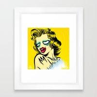Meta Monroe Framed Art Print