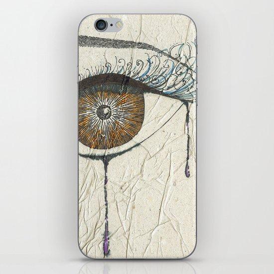 Sad Eye iPhone & iPod Skin