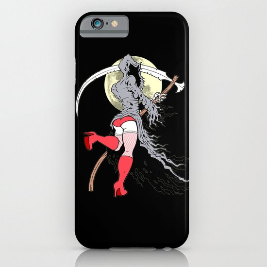 Death Becomes Her iPhone & iPod Case