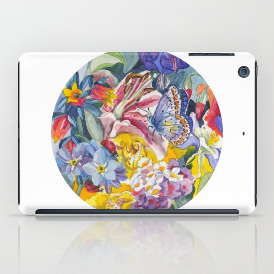 Summer garden iPad Case