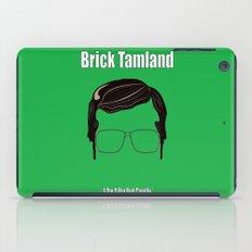 Brick Tamland: Weather iPad Case