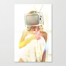 SEX ON TV - FOXY by ZZGLAM Canvas Print