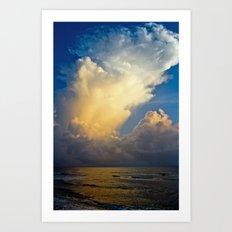 Cloud Explosion Art Print