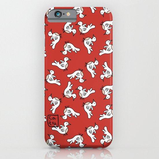 Birds {All birdie around - red} iPhone & iPod Case