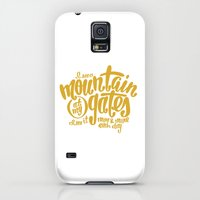 iPhone Cases featuring Mountain At My Gates by Chelsea Herrick