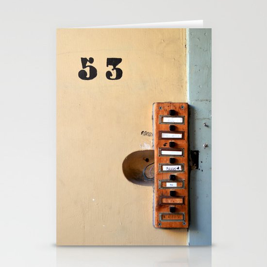 Ring my bell Stationery Card