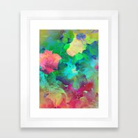 Hibiscus Dream #4 Framed Art Print