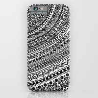 iPhone & iPod Case featuring Black Pulse o1. by emain