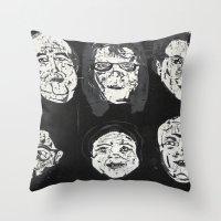Mi Familia Throw Pillow