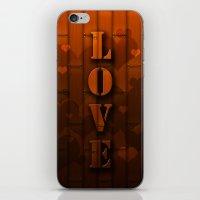 LOVE!  iPhone & iPod Skin