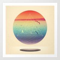Lapse In Perception Art Print