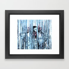 CRY STAL KNIGHT Framed Art Print