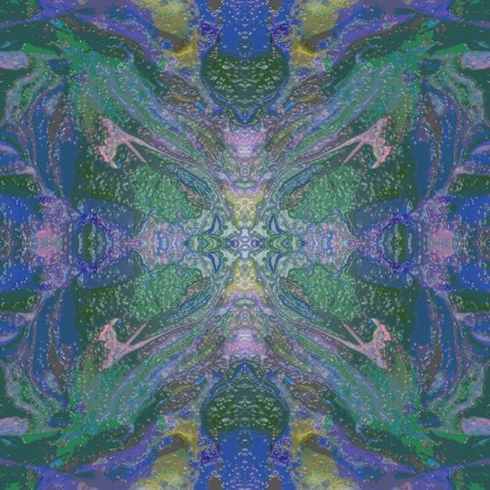 Internal Kaleidoscopic Daze- 16 Art Print