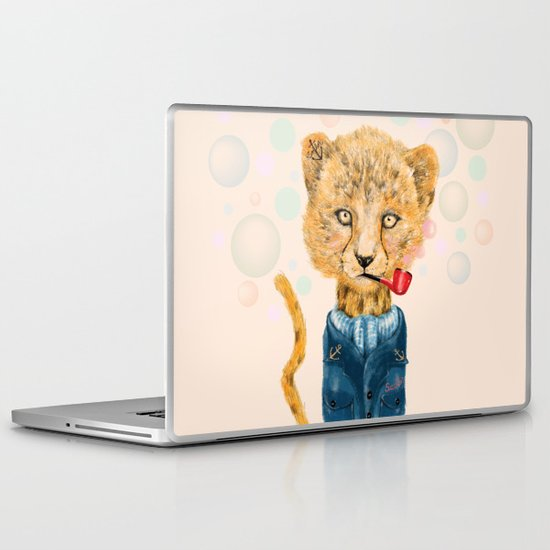 Cheetah Sailor Laptop & iPad Skin