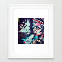 THE NEST on 6th Framed Art Print
