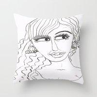 Maryja Throw Pillow
