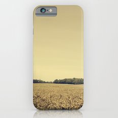 Lonely Field in Brown iPhone 6 Slim Case