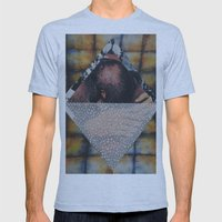 Algebraic! Mens Fitted Tee Athletic Blue SMALL