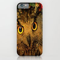 owls iPhone & iPod Cases featuring Owls by Ganech joe
