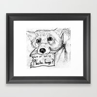 Plastic Fangs Collective Framed Art Print