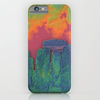 Stonehenge on Fire iPhone 6 Slim Case