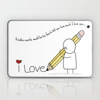 I Love You...  Laptop & iPad Skin