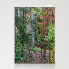 Sifting through Trees Stationery Cards